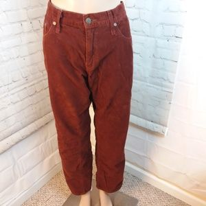 Old Navy Men's Corduroy Pants Sz 34x32 Boot Cut